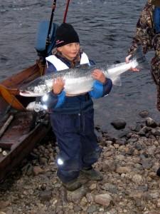 kala ja kalastaja, heinäkuussa 2010
