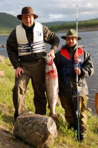 Kuvan kala saatiin kesällä 2009 Lossisuvannosta punaisella hile sivutissillä. Saajat Toni Kalkasmaa ja Jiri Åke. Kalan paino 10,8 kg.