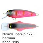 Kupari-pinkki-harmaa P49