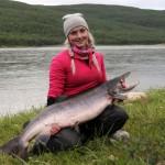 15 kiloa ja iloinen soutajaväsyttäjä Linda 2012